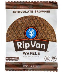Rip Van Wafels are low in sugar